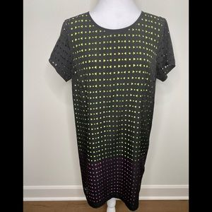 Michael Kors Laser-Cut Shift Dress